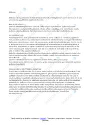 Ahdistukseen liittyvät tasot| Essee |Arvosana 8