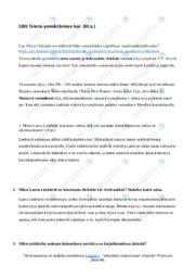 Tekstin ymmärtäminen |Essee |Arvosana 8
