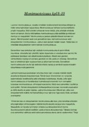 Monimuotoisuus | Essee |Arvosana 10