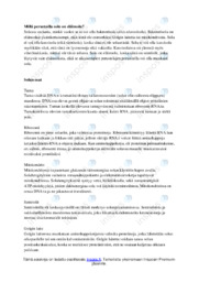 Tehtäviä soluista | Essee | Arvosana 10