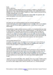 Filosofian essee | Essee | Arvosana 9