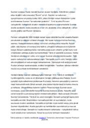 Autonomisen Suomen synty   Essee  Arvosana 10