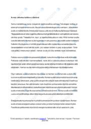 Kemian merkitys |Essee |Arvosana 8