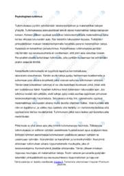 Psykologinen tutkimus | Analyysi | Arvosana 9