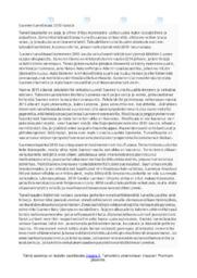 Suomen turvallisuustilanne | Essee | Arvosana 9