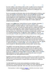 Suomeen kohdistuvat turvallisuusuhat | Essee | Arvosana 9
